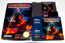 IRON SWORD - WIZZARDS & WARRIORS 2 - NES - NINTENDO - COMPLETE