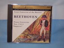Beethoven: Great Concertos Of The Masters: Alexander, Uruvayev 1994 CD Infinity