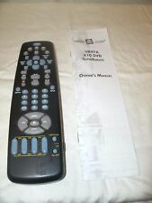 X-10 Dvd SuperRemote Model # Ur47A. With instructions and code list.