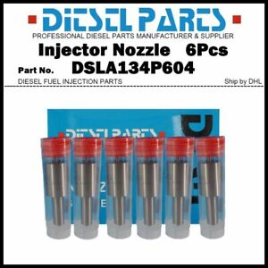 6x Injector Nozzle Tips 0433175114 DSLA134P604 for IVECO Daily FIAT Ducato 2.8TD