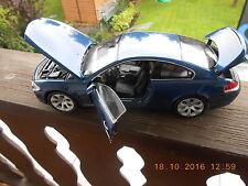 aus Sammlung Modellauto KYOSHO 1 :18 BMW 6er Serie blau