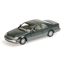 Minichamps 430032604 Mercedes Benz 600 SEC 1992 Vert Métal 1:43 Echelle