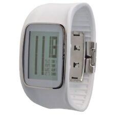 Relojes de pulsera unisex de goma de alarma