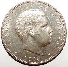 1000 Reis Portugal argent 1899 qualite  (W 014)