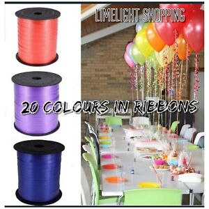 70 yard  Curling RIBBON Tie - 25 Colours (5mm Wide)(Balloon/Craft/Gift Wrap/Art)