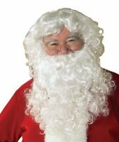 Rubies Adult Santa Clause Economy Beard Wig Set Christmas Xmas Costume 2269