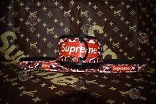 Leather Dog Collar & Leash Sewn High Quality Size  37cm-46cm Free Shipping