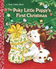 The Poky Little Puppy's First Christmas New Hardcover Classic Little Golden Book