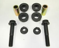 NMW Black Polyurethane Ladder Bar Bushing Kit With Steel Sleeve and Bolts NEW