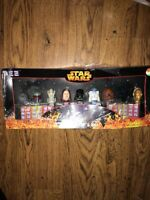 STAR WARS: LIMITED EDITION PEZ COLLECTOR'S SET - 2005 In Original Retail Box