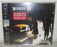 CD THROAT - KNIEVEL IS EVIL - NUOVO NEW