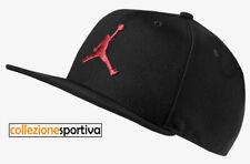 Cappellino Cappello Nike Air Jordan Jumpman Snapback - Ar2118-010 Col.nero/rosso