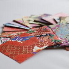 Japanese Finest Yuzen Washi Origami Paper - Assorted 200 Sheets - 6cm x 6cm