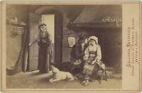 Die Überraschung Des Becchi ROM Fotografie D' Nach Gravur Albumin c1890