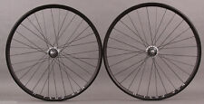 H + Plus Son Archetype Black Dura Ace 7600 Track hubs fixed gear bike Wheelset
