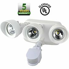 UL Listed Outdoor LED Security Three Headed Floodlight with Motion Sensor, Wat..