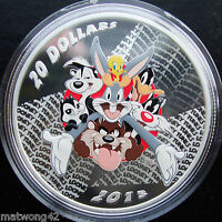 **SOLDOUT Canada 1 oz Fine Silver Loonie Tunes Merrie Melodies Coin 2015
