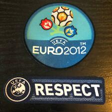 Euro 2012 European Champions Football Shirt Arm Patch Badges Respect SPAIN