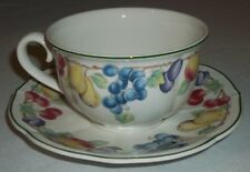 Villeroy & Boch MELINA breakfast cappuccino cup and saucer EXCELLENT Jumbotasse