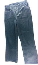 L.L. Bean Womens Corduroy Casual Pants Gray Favorite Fit Size 10 Tall