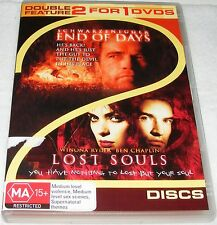 END OF DAYS / LOST SOULS--- ( Dvd 2 Disc Set)