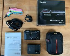 Canon PowerShot G7X Mark II 20.1 MP Compact Digital Camera w/Case + Strap