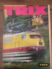 472.1516.26 Trix Catalogue 1971/72 + Price List Italia
