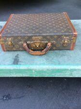 Vintage Louis Vuitton Monogram Brief Case Attache Trunk