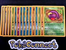 NM-MINT Pokemon 1ST EDITION FOSSIL Complete Common Set 16 Cards