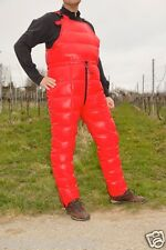 Shiny nylon rompers braces pants suspender pants down pants trousers wetlook new