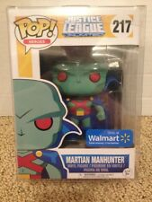 Funko Pop! Justice League Unlimited Martian Manhunter # 217 Walmart Exclusive