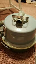 Rare General Electric V12c9 Canister Vacuum WORKS GE Vintage Free Pickup