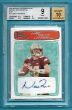 2008 Topps ROOKIE PROGRESSION RED Matt Ryan #/79 RC AUTO - BGS 9 - FALCONS