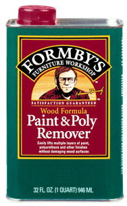 Forby's Wood Formula Paint & Poly Remover Wash 32oz New Sealed Discontinued HTF