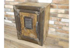 Vintage Industrial bedside urban vintage industrial cabinet