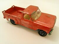 No.6a Rare Green Base Matchbox Series Lesney Diecast Red Ford Pick-Up Truck