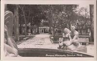 Caracas, VENEZUELA - Caobos Park - Fountain - REAL PHOTO
