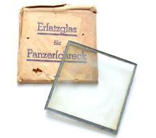 WW2 German Wehrmacht Panzerschreck Spare Glass -Ersatzglas für Panzerschreck