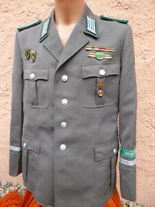 Jacke ,NVA,Stasi ,Grenztruppen,Grenze,Fähnrich,Spiess, grösse 52-1,Orden,Uniform