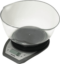 Salter Dual Pour Kitchen Scale with Bowl - 1024SVDR14