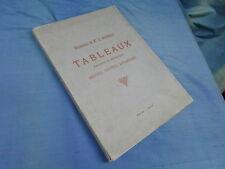 CATALOGUE VENTE AUX ENCHERES / SUCCESSION MADAME WARNECK 1905 TABLEAUX DESSINS