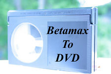 BETAMAX To USB TRANSFER SERVICE