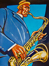 IKE QUEBEC PRINT poster jazz saxophone from hackensack to englewood blue note cd