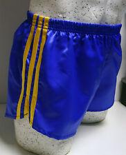 nailon Glanz Satén Shorts de fútbol Pequeña a XXXXL AÑOS 70 & 80 retro Real &
