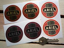Ariel Motocicleta pegatinas 60mm Par Leader Golden Arrow Hunter Cuadrado 4 Bicicletas