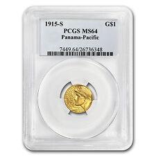 1915-S Gold $1.00 Panama-Pacific MS-64 PCGS - SKU #74924