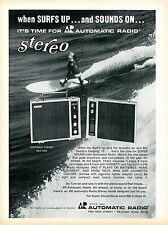 1970 Automatic Radio PEX-1032 Portable Stereo Surfs Up Print Ad