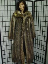 MINT NATURAL OPPOSUM OPOSSUM CANADIAN FUR COAT JACKET WOMEN WOMAN SIZE4-6 PETITE