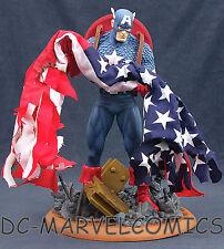 MARVEL MILESTONES CAPTAIN AMERICA FULL Size STATUE 9/11 AVENGERS Maquette MOVIE