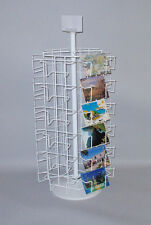 Post Card Display Rack 36pkt Spinner postcard 4x6 Cards Made In Usa counter